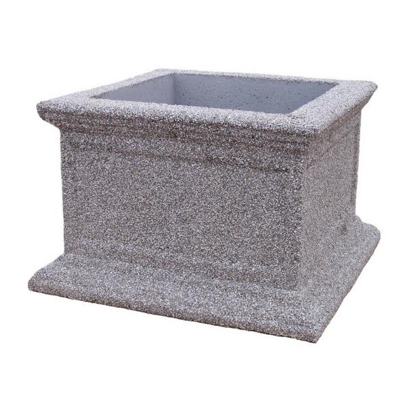 Donica betonowa kwadratowa 81x81x52 kod: 232