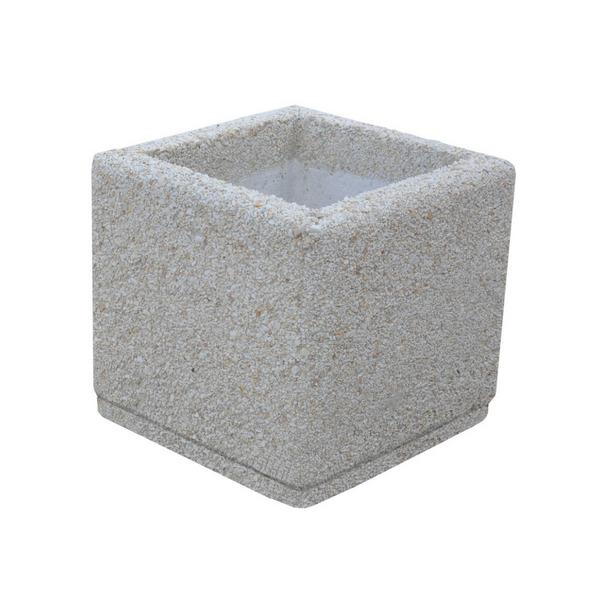 Donica betonowa kwadratowa 40x40x40 kod: 254