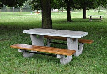 stoły bbetonowe