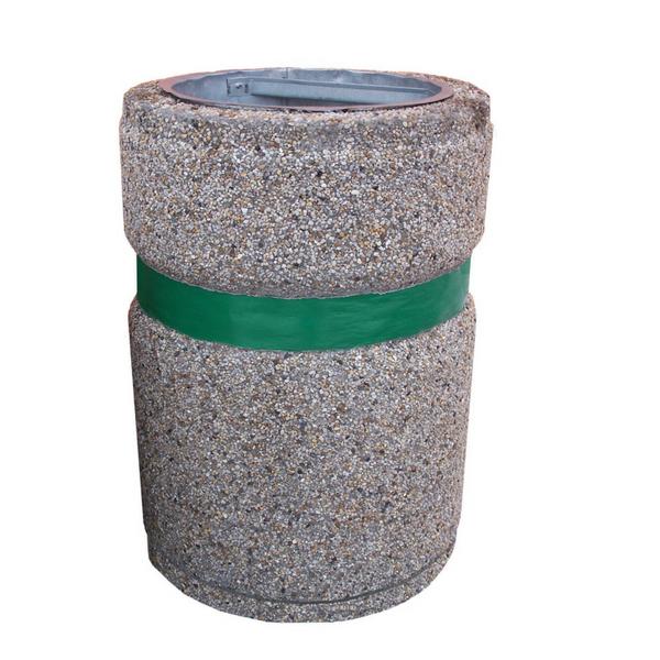 Kosz betonowy okrągły kod: 111,112,113