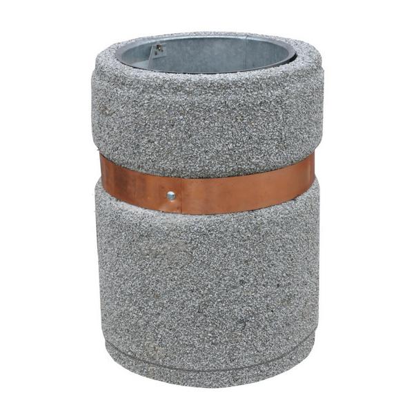 Kosz betonowy okrągły kod: 132,133,134