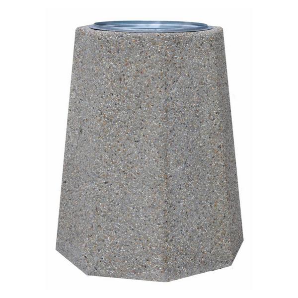 Kosz betonowy ośmiokątny 120l. kod: 141