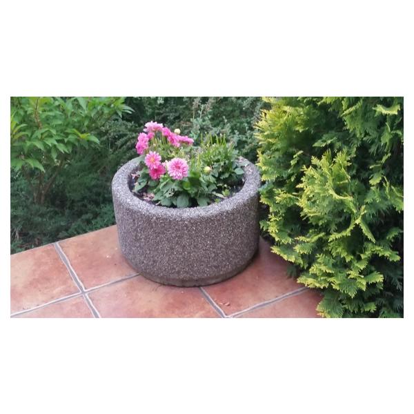 Donica betonowa okrągła 50×30 kod: 201