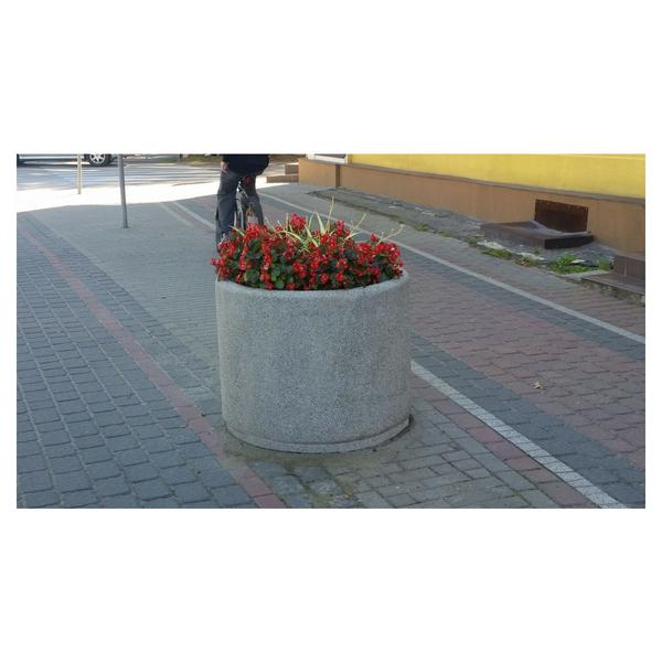 Donica betonowa okrągła 90×70 kod: 208