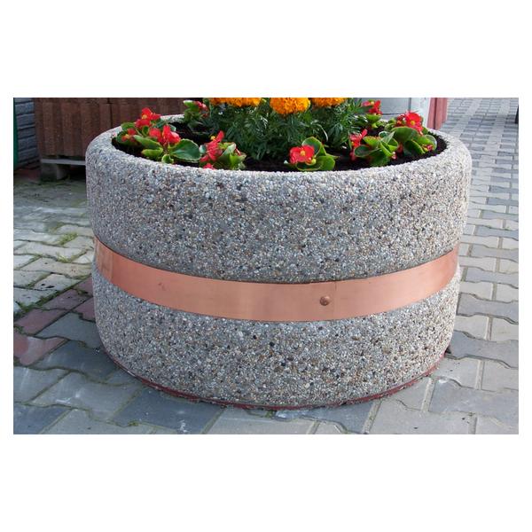 Donica betonowa okrągła 95×50 kod: 210
