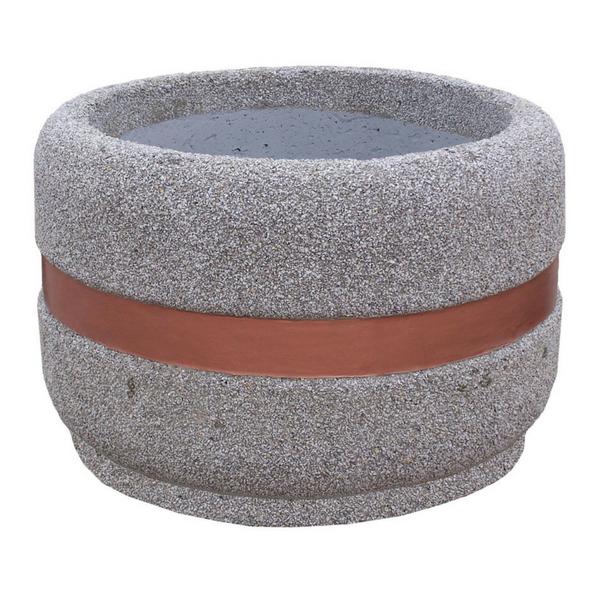 Donica betonowa okrągła 100×65 kod: 211