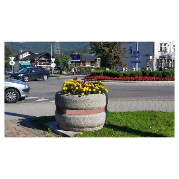 Donica betonowa okrągła 100×65 kod: 212