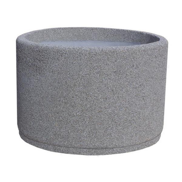 Donica betonowa okrągła 110×70 kod: 215