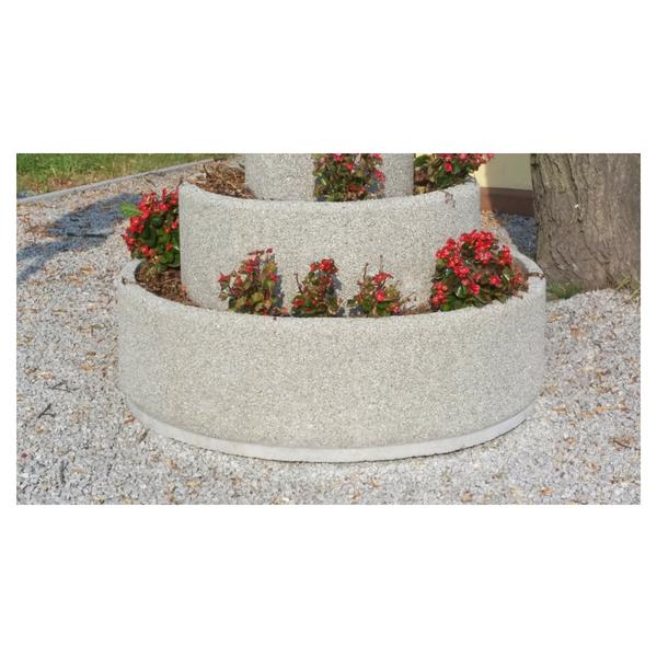 Donica betonowa okrągła 130×40 kod: 216