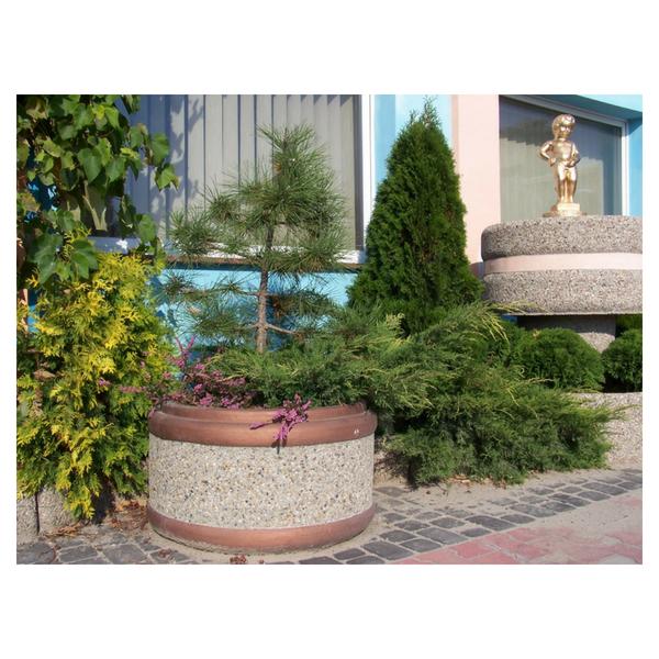 Donica betonowa okrągła 80×50 kod: 220A