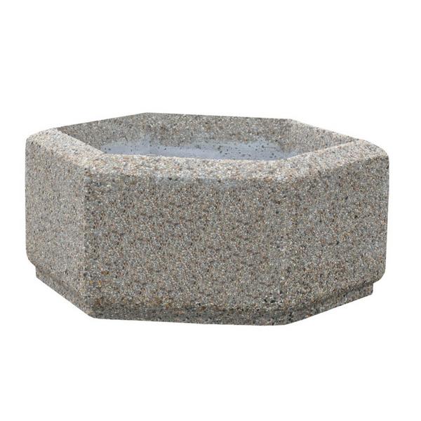 Donica betonowa sześciokątna 80×36 kod: 222