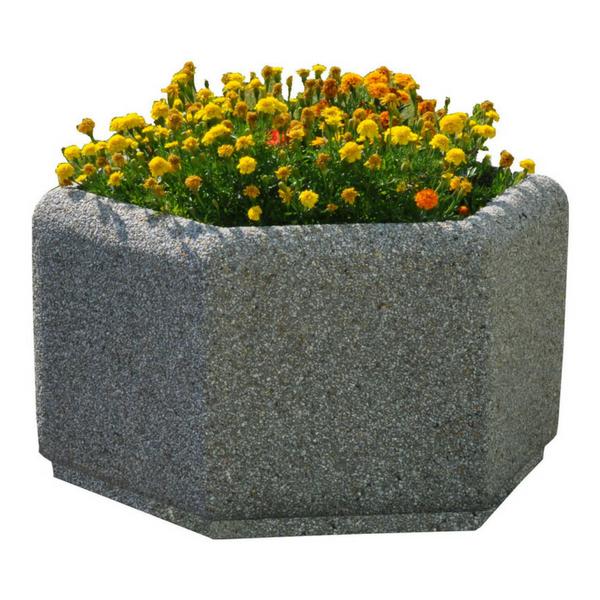 Donica betonowa sześciokątna 80×46 kod: 223