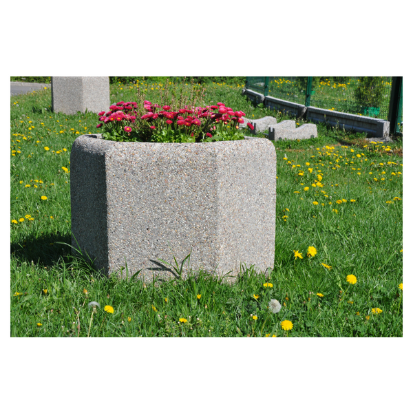 Donica betonowa sześciokątna 80×60 kod: 224