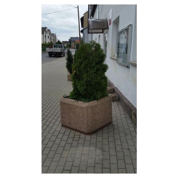 Donica betonowa kwadratowa 60x60x60 kod: 231