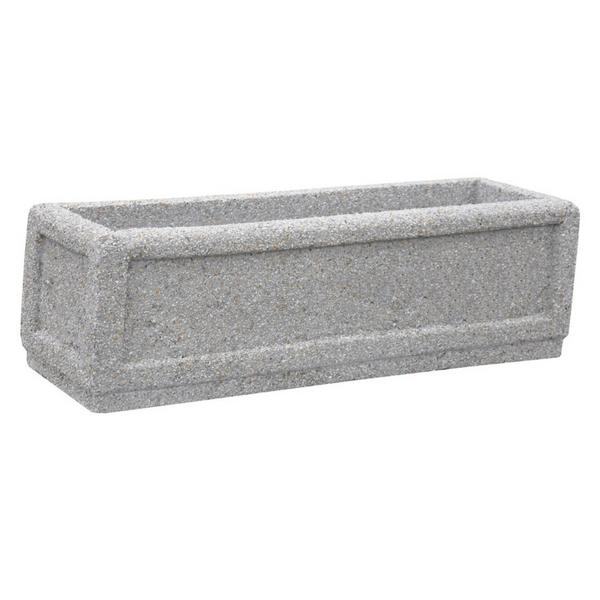 Donica betonowa prostokątna 100x30x32 kod: 241