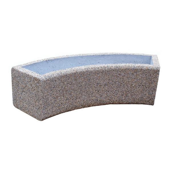 Donica betonowa łukowa 157x40x40 kod: 249