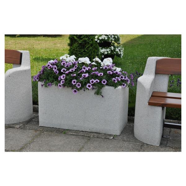Donica betonowa prostokątna 90x40x50 kod: 251