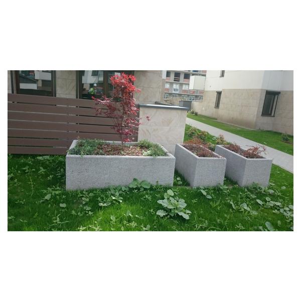Donica betonowa kwadratowa 150x150x85 kod: 257