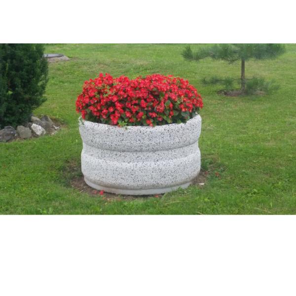 Donica betonowa okrągła 95×50 kod: 260