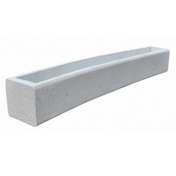 Donica betonowa łukowa 273x40x40 kod: 264