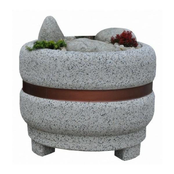 Donica betonowa okrągła 100×80 kod: 266