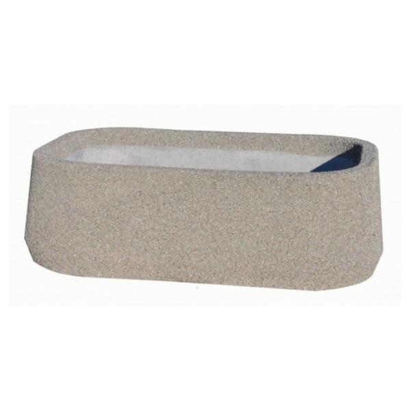 Donica betonowa owalna 160x110x50 kod: 267