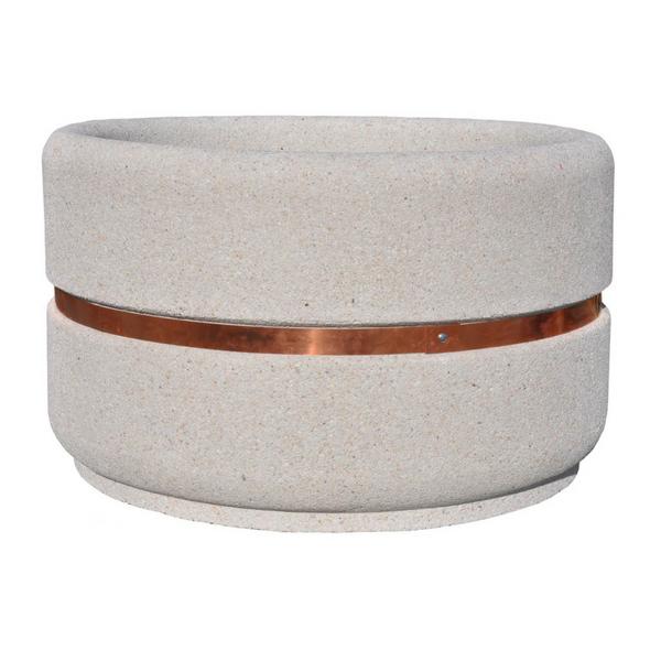Donica betonowa okrągła 135×80 kod: 268C