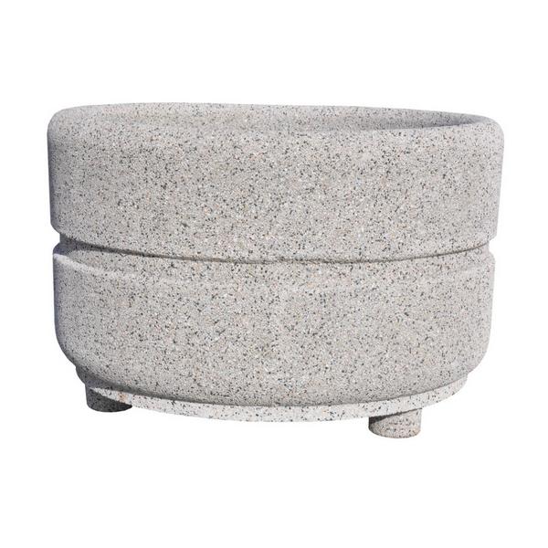 Donica betonowa okrągła 135×90 kod: 274a