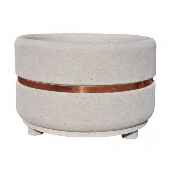 Donica betonowa okrągła 135×90 kod: 274c
