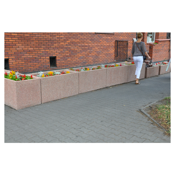 Donica betonowa prostokątna 120x60x60 kod: 276