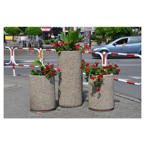 Donica betonowa okrągła 50×120 kod: 280