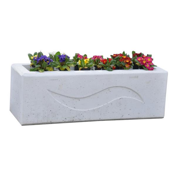 Donica betonowa prostokątna 120x40x40 kod: 282