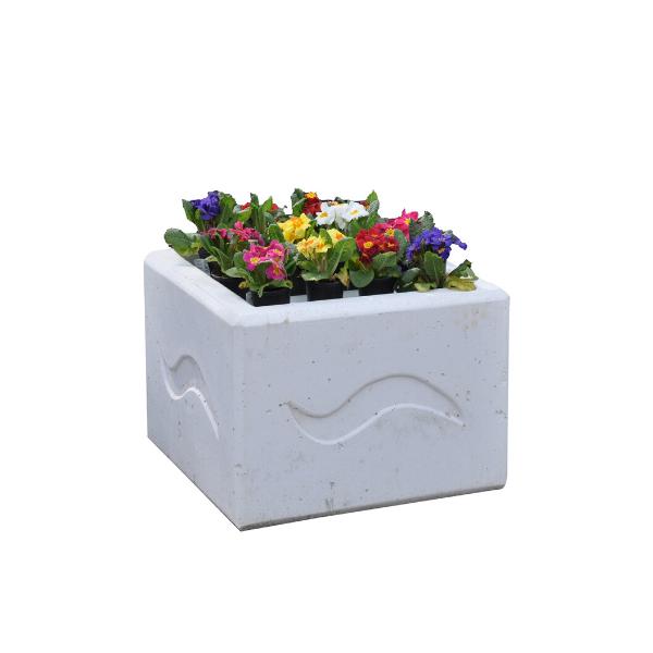 Donica betonowa kwadratowa 60x60x40 kod: 283