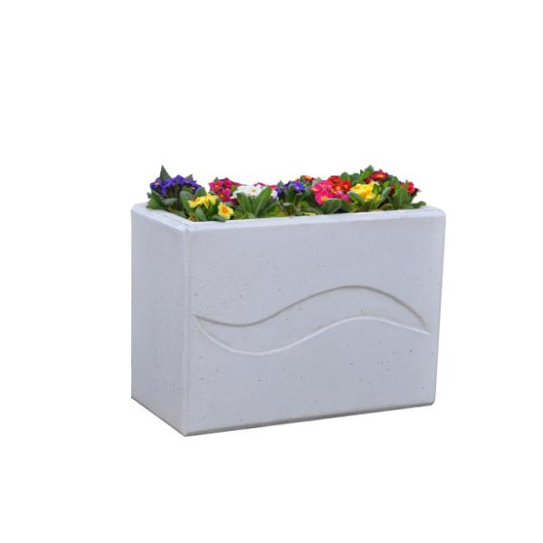 Donica betonowa prostokątna 85x40x60 kod: 284