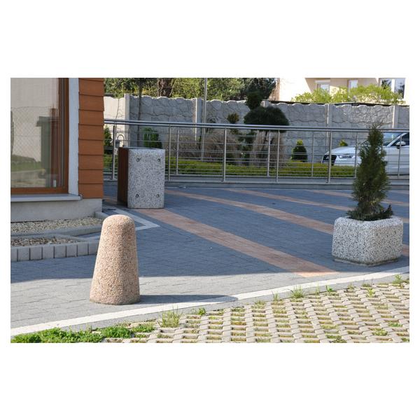 Betonowy słupek parkingowy wys. 60cm Ø 20/35cm kod: 302