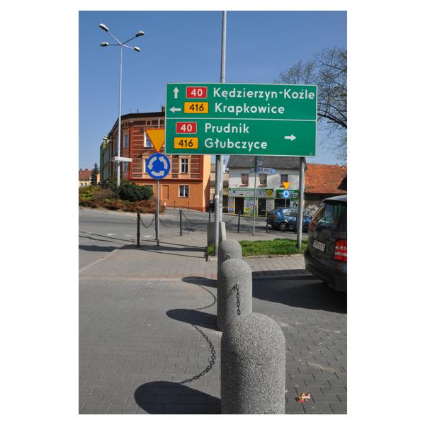 Betonowy słupek parkingowy wys. 80cm Ø 40cm kod: 323