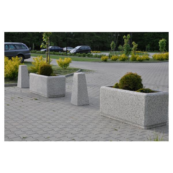 Betonowy słupek parkingowy wys. 80cm Ø 24/34 kod: 343
