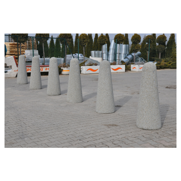 Betonowy słupek parkingowy wys. 100cm Ø 20/40cm kod: 347