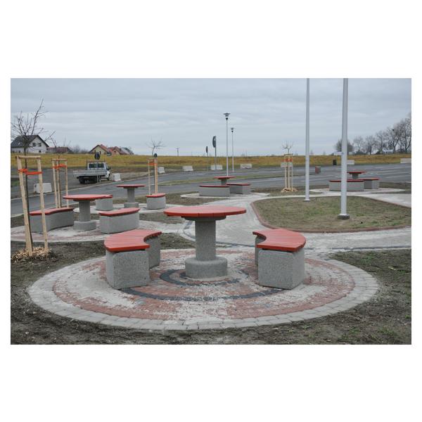 Betonowy stół parkingowy kod: 517