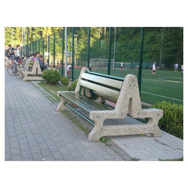 Ławka betonowa kod: 406