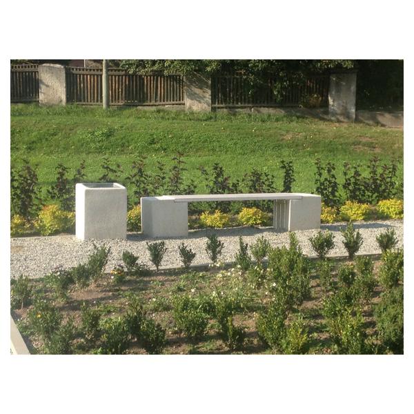 Ławka betonowa kod: 418