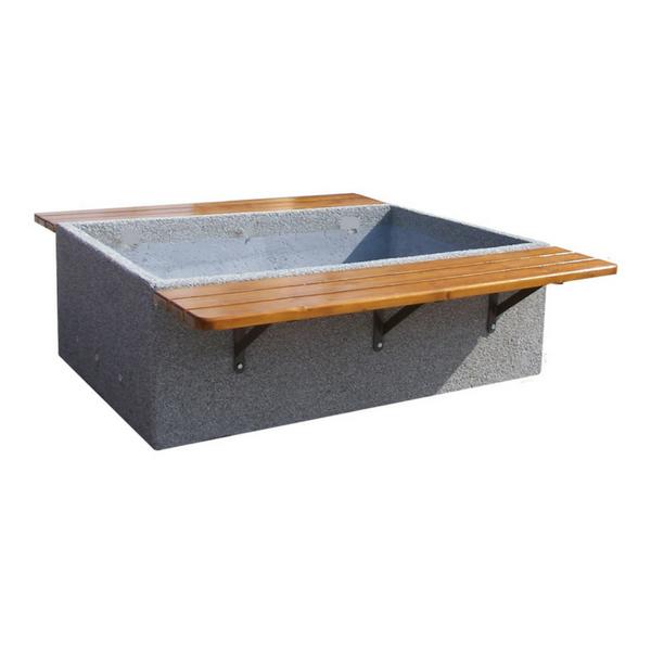 Ławka betonowa kod: 421