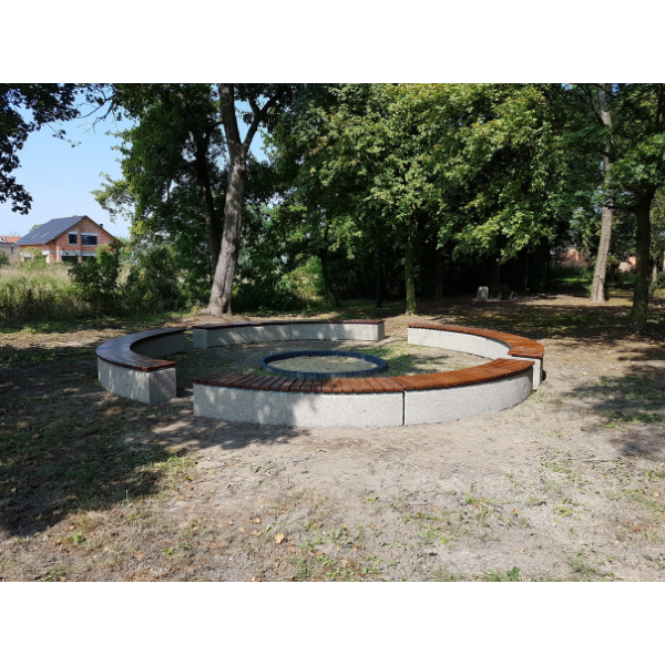 Ławka betonowa kod: 422