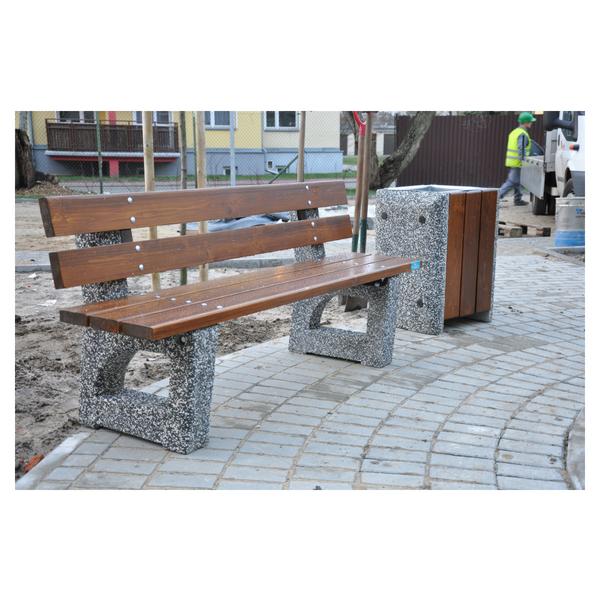 Ławka betonowa kod: 443