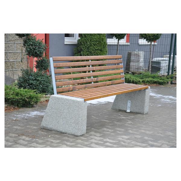 Ławka betonowa kod: 452