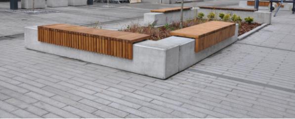 Ławka betonowa kod: 460
