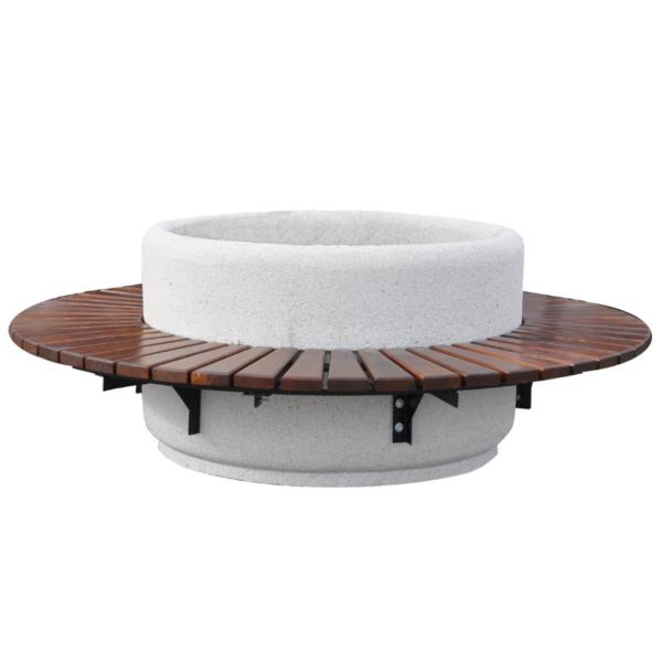 Ławodonica betonowa okrągła 135×80 kod: 294
