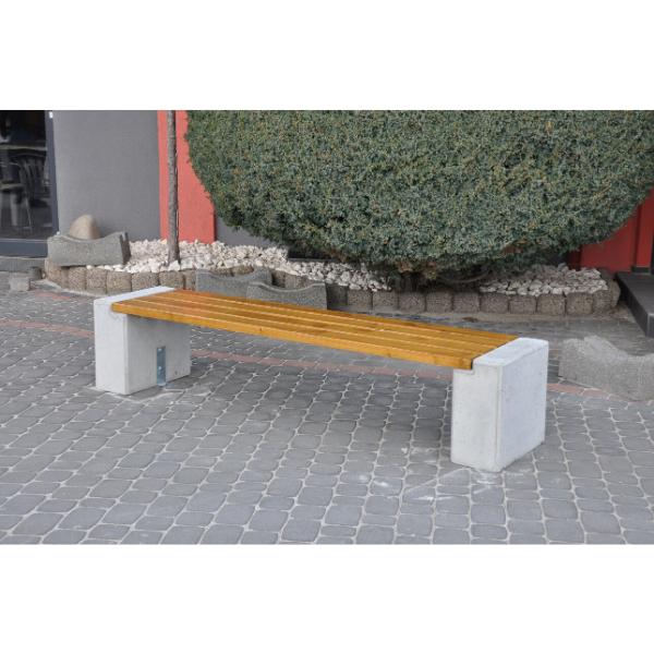 Ławka betonowa kod: 407A
