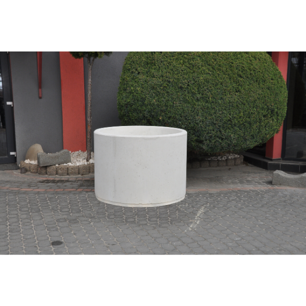 Donica betonowa okrągła 112×80 kod: 295