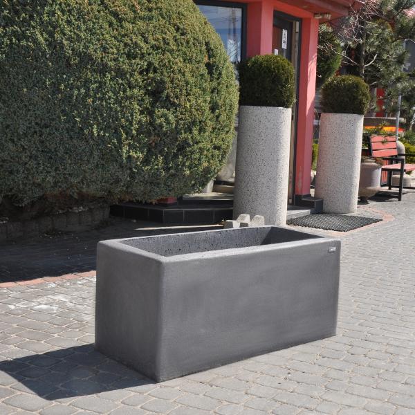 Donica betonowa prostokątna 110x50x50 kod: 296